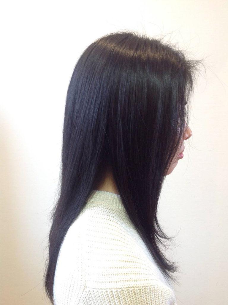 黒髪・艶サラ