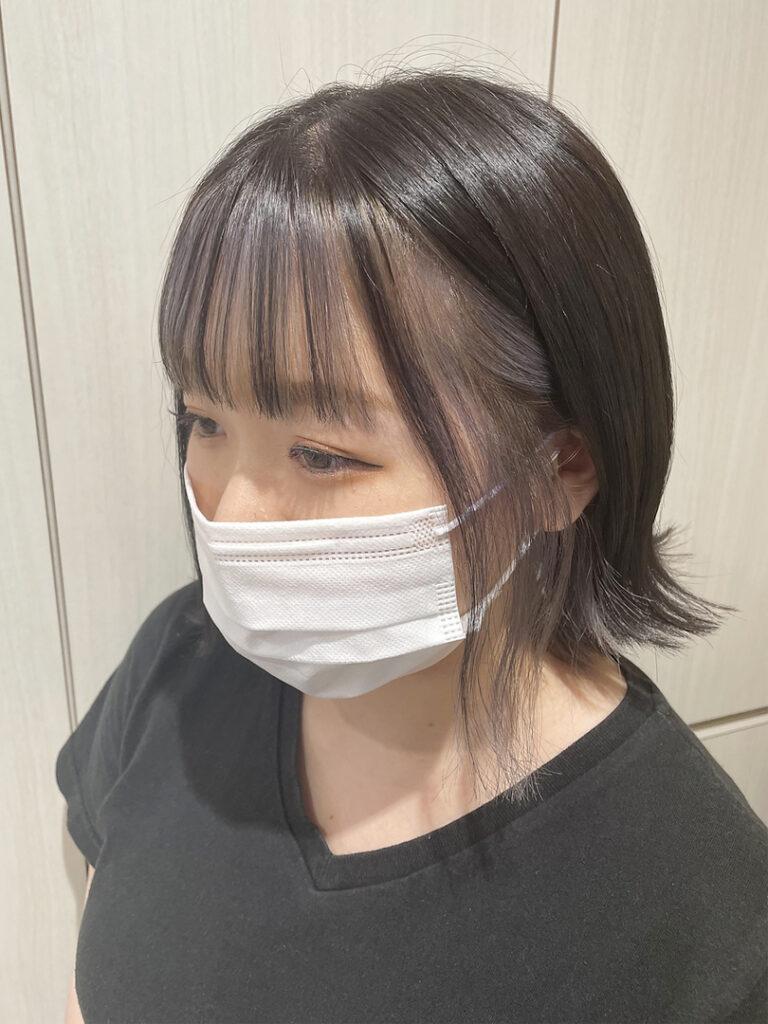 フェイスフレーミングカラー☆大人かわいい外ハネボブ